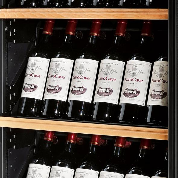 EuroCave Premiere L Wine Cellar With Display Presentation Shelf