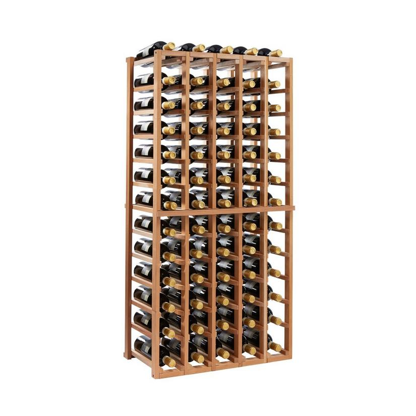 N'FINITY Stackable 4 Foot Wine Rack - 5 Column
