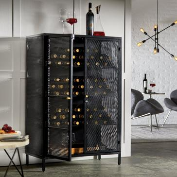 Lombardy Metal Wine Locker
