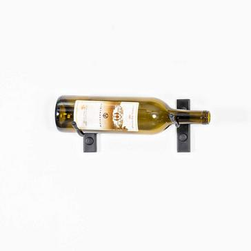 "VintageView W Series Bottle Height (4"") Wall Mounted Metal Wine Rack (1 Bottle)"
