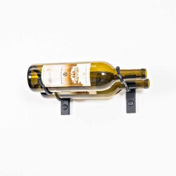 "VintageView W Series Bottle Height (4"") Wall Mounted Metal Wine Rack (2 Bottle)"