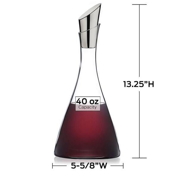 Wine Enthusiast Platinum Decanter