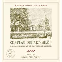Chateau Duhart Milon Rothschild 2009 Pauillac
