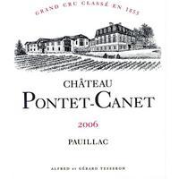 Chateau Pontet-Canet 2006 Grand Cru Classe, Pauillac