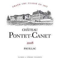 Chateau Pontet-Canet 2008 Grand Cru Classe, Pauillac