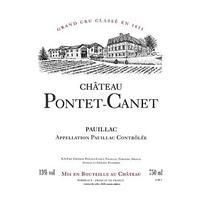 Chateau Pontet-Canet 2010 Grand Cru Classe, Pauillac