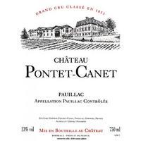 Chateau Pontet-Canet 2012 Grand Cru Classe, Pauillac