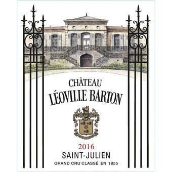 Chateau Leoville Barton 2016 Cru Classe, St. Julien