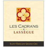 Les Cadrans de Lassegue 2017 St. Emilion Grand Cru