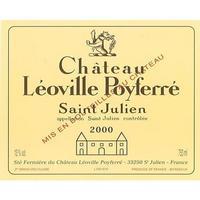 Chateau Leoville Poyferre 2000 Saint-Julien, Cru Classe