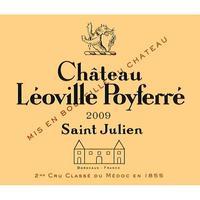 Chateau Leoville Poyferre 2009 St. Julien, Cru Classe