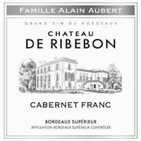 Chateau de Ribebon 2015 Cabernet Franc, Bordeaux Superieur
