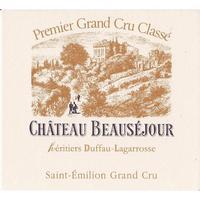 Chateau Beausejour Duffau-Lagarrosse 2016 St. Emilion, Premier Grand Cru Classe