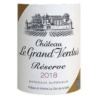 Chateau Le Grand Verdus 2018 Reserve, Bordeaux Superieur