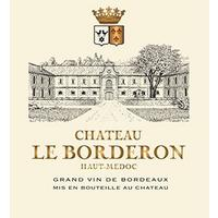 Chateau Le Borderon 2007 Haut-Medoc, Cru Bourgeois