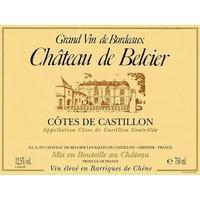 Chateau de Belcier 2010 Castillon Cotes de Bordeaux