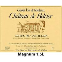 Chateau de Belcier 2010 Castillon Cotes de Bordeaux, Magnum 1.5L