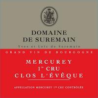 Mercurey 1er Cru, Clos L'Eveque 2016 Domaine de Suremain