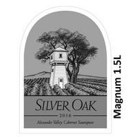 Silver Oak 2016 Cabernet Sauvignon, Alexander Valley, Magnum 1.5L