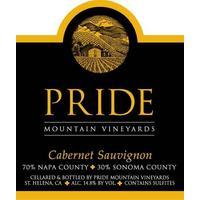Pride 2018 Cabernet Sauvignon, Napa/Sonoma