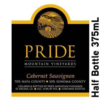 Pride 2017 Cabernet Sauvignon, Napa/Sonoma, Half Btl 375 ml