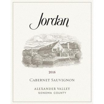 Jordan 2016 Cabernet Sauvignon, Alexander Valley