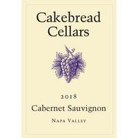 Cakebread 2018 Cabernet Sauvignon, Napa Valley