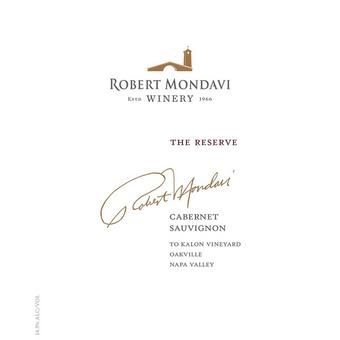 Robert Mondavi 2016 Reserve Cabernet Sauvignon, To Kalon Vyd., Napa Valley