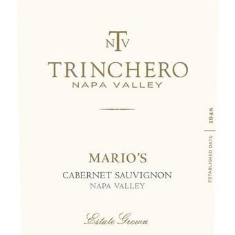 Trinchero 2014 Cabernet Sauvignon, Mario's, Napa Valley