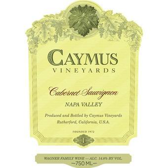 Caymus 2018 Cabernet Sauvignon, Napa Valley