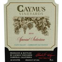 Caymus Special Selection 2016 Cabernet Sauvignon, Napa Valley
