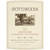 Spottswoode 2017 Family Estate Cabernet Sauvignon, St. Helena, Napa Valley