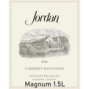 Jordan 2012 Cabernet Sauvignon, Alexander Valley, Mag. 1.5 L