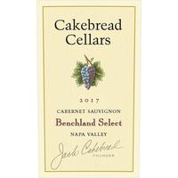 Cakebread 2017 Cabernet Sauvignon, Benchland Select, Napa Valley