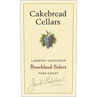Cakebread 2018 Cabernet Sauvignon, Benchland Select, Napa Valley