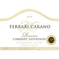 Ferrari-Carano 2016 Cabernet Sauvignon Reserve, Alexander Valley