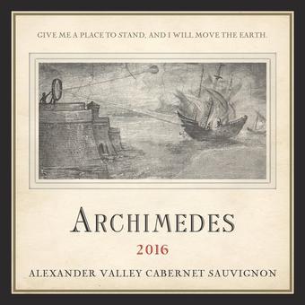 Archimedes 2016 Cabernet Sauvignon, Alexander Valley, Francis Ford Coppola