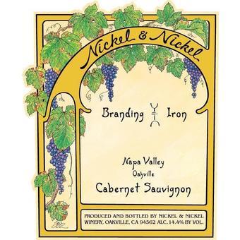Nickel & Nickel 2018 Cabernet Sauvignon, Branding Iron Vyd., Oakville