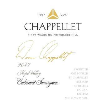 Chappellet 2017 Cabernet Sauvignon, Signature, Napa Valley