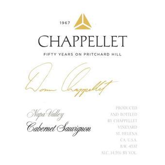 Chappellet 2018 Cabernet Sauvignon, Signature, Napa Valley