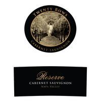 Twenty Rows 2018 Cabernet Sauvignon Reserve, Napa Valley