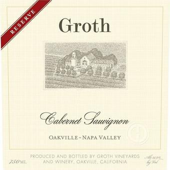 Groth 2016 Reserve Cabernet Sauvignon, Oakville, Napa Valley