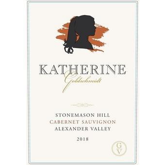 Katherine Goldschmidt 2018 Cabernet Sauvignon, Stonemason Hill, Alexander Valley