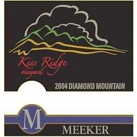 Meeker 2004 Cabernet Sauvignon, Kiss Ridge, Diamond Mtn., Napa Valley