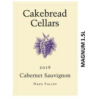 Cakebread 2018 Cabernet Sauvignon, Napa Valley, Magnum 1.5L