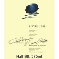 Opus One 2016 Napa Valley, Half Bottle, 375 ml