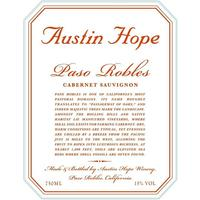Austin Hope 2018 Cabernet Sauvignon, Paso Robles
