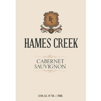 Hames Creek 2016 Cabernet Sauvignon, California