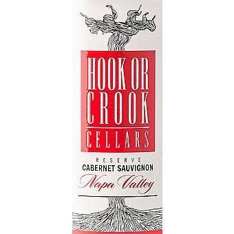 Hook or Crook Cellars 2018 Cabernet Sauvignon Reserve, Napa Valley