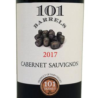 101 Barrels 2017 Cabernet Sauvignon, Napa Valley
